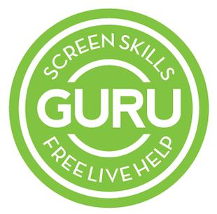 Guru button large