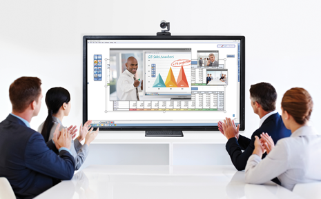 Web conferencing for OS page