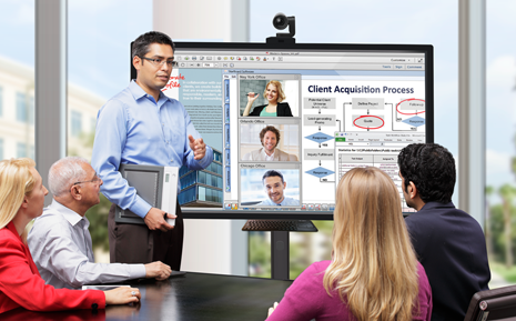OneScreen-h1-Meeting Web Conferencing for OS page